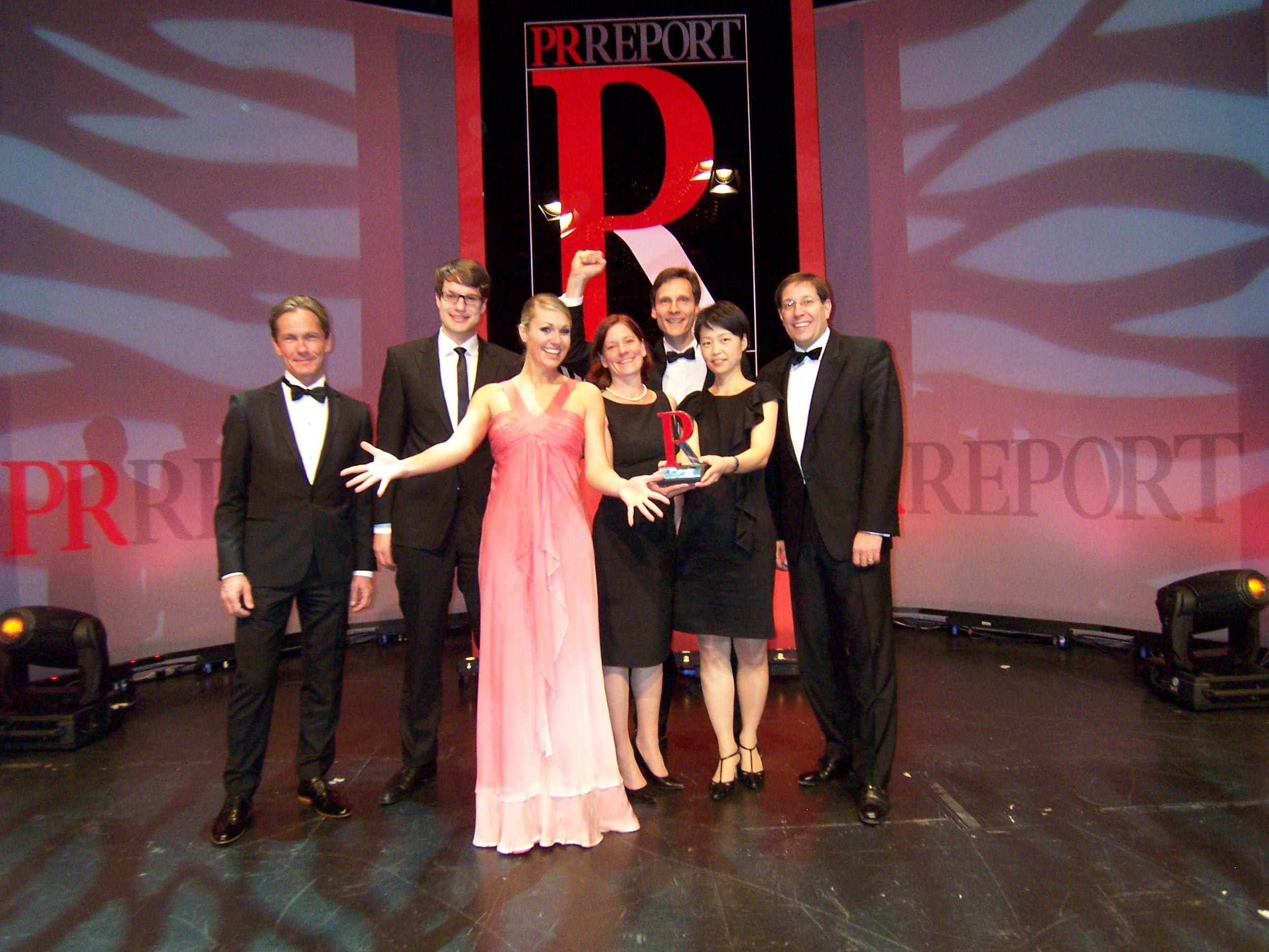 PR Report Award für den Amflora-Dialog