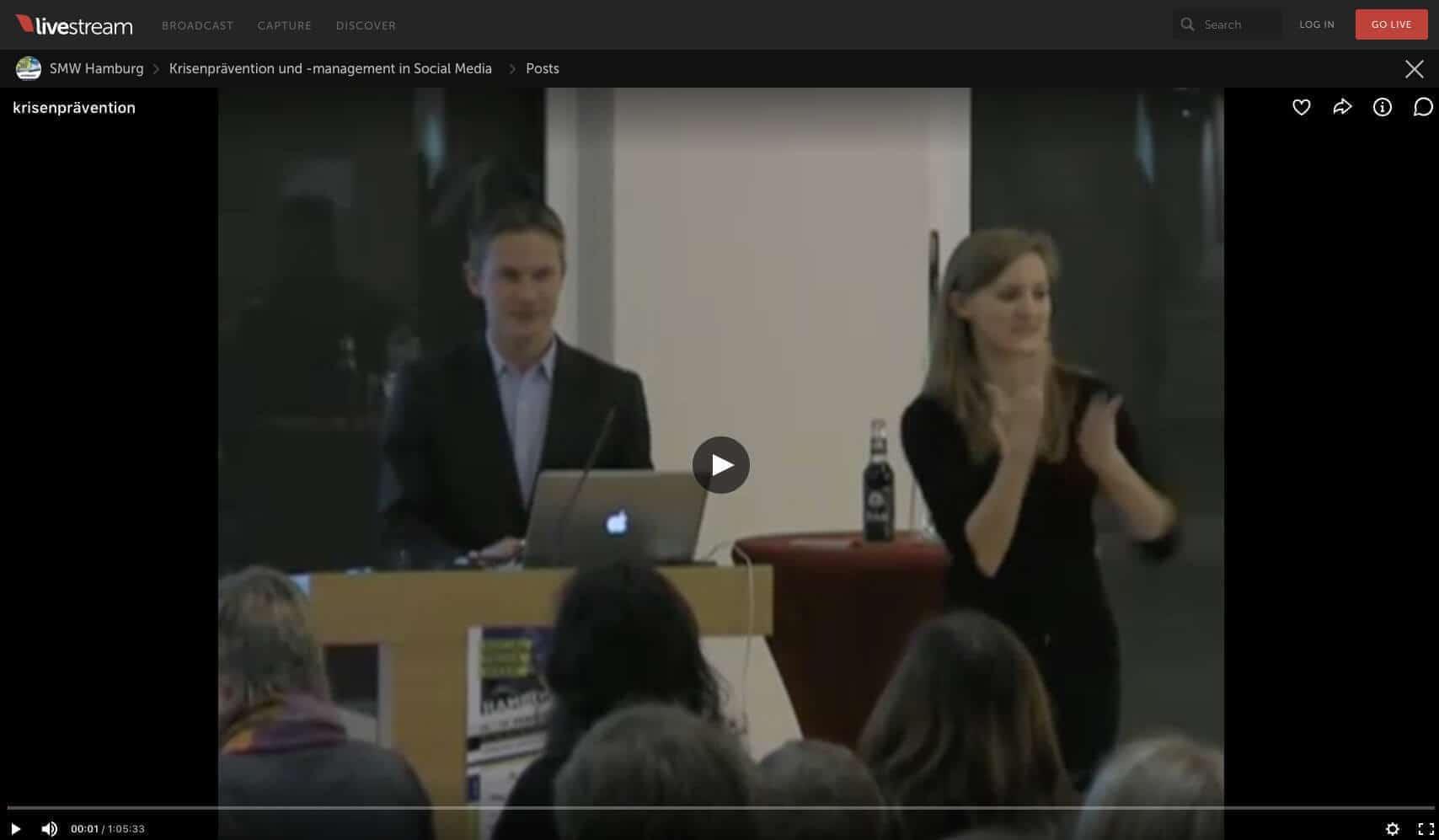 Video: Krisenprävention und -management