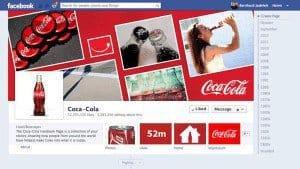 Coca-Cola ist bei Facebook erfolgreich