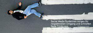 Social Media Guidelines sind Regeln in Unternehmen