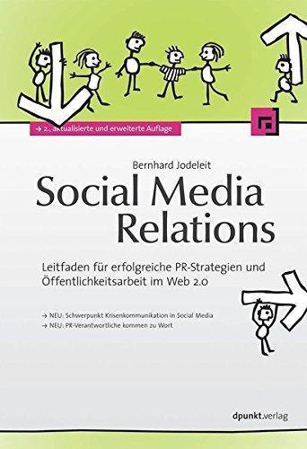 Buchcover Social Media Relations