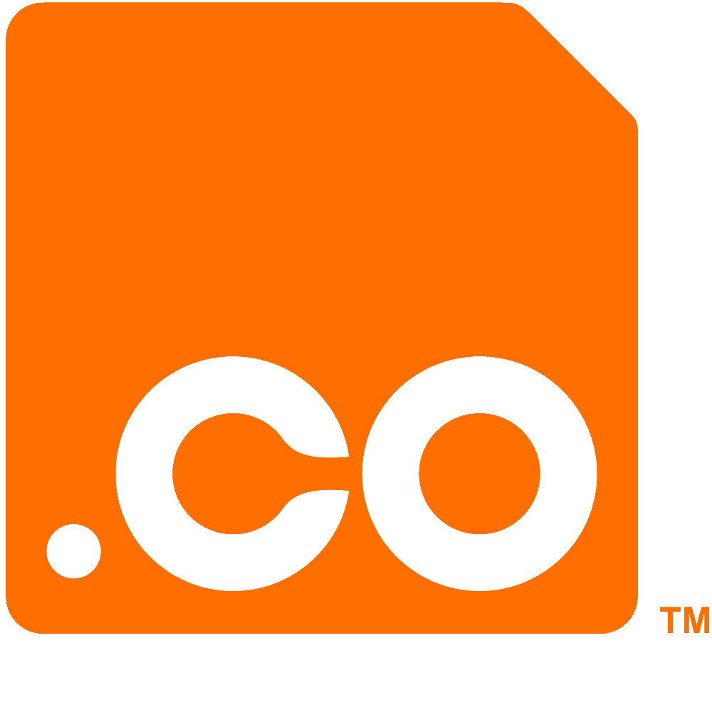 Logo .co Top Level Domain (.co TLD)
