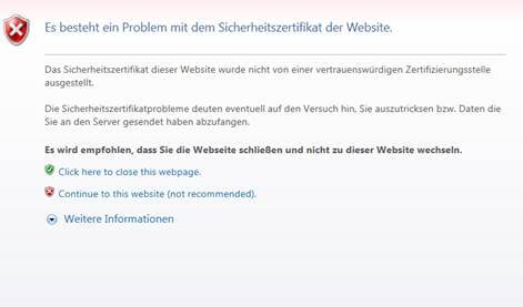 Vorsicht bei SSL: Schlampig implementierte Zertifikate selbst bei ...