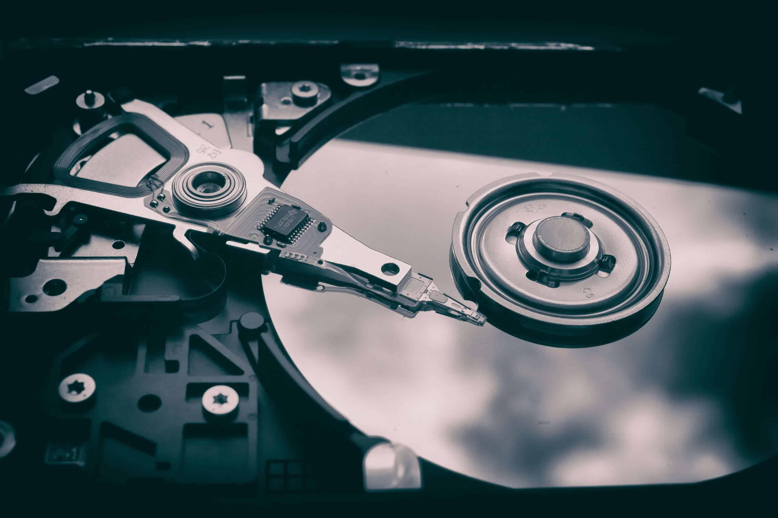 Hard Drive / Festplatte eines Computers