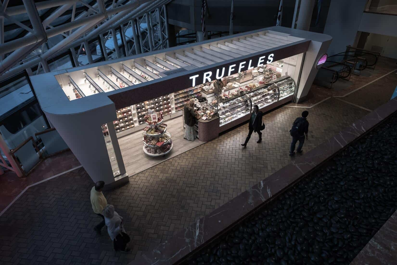 Truffels Shop as a symbol for luxury